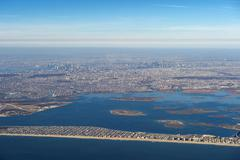 Aerial of New York, United States of America, North America - stock photo