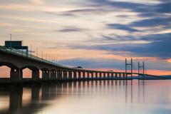 Second Severn Crossing, South East Wales, United Kingdom, Europe Stock Photos