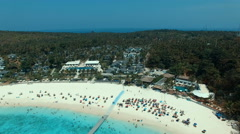 Aerial view of racha island phuket thailand Stock Footage