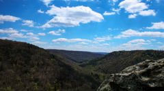 Ravens Overlook Time-Lapse - Tennessee - stock footage