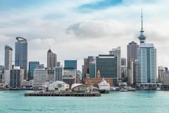 Auckland view at the noon - stock photo