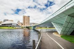 Adelaide view at the noon - stock photo