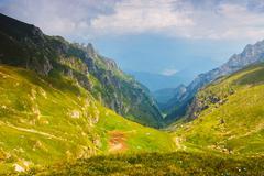 Bucegi mountains, Carpathians,Transylvania,Romania Stock Photos