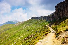 Bucegi mountains, Carpathians,Transylvania,Romania - stock photo