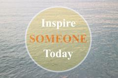 Inspire someone today inspirational quote Kuvituskuvat