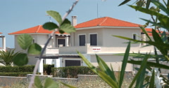 House for sale in Greece Stock Footage