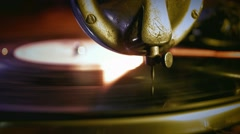 The gramophone - stock footage