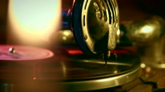 The gramophone Stock Footage