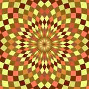 Abstract seamless geometric patterns. Kaleidoscope seamless Stock Photos