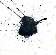 Black Splatter - stock illustration