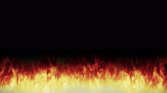 Fire animation Stock Footage