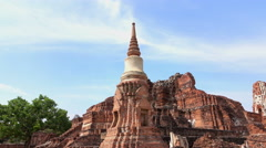 Tourism Wat Mahathat Stock Footage