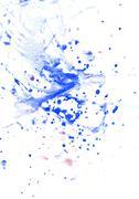 Blue Blot Stock Illustration