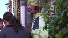 fortune teller, arcade attraction - stock footage