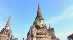 Wat Phra Si Sanphe Stock Footage