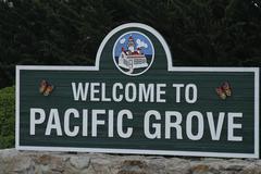 Stock Photo of Establishing sign