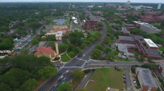 Aerial video West Tennessee Street drone Stock Footage