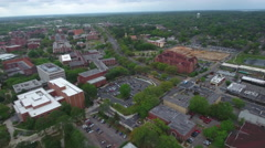 Florida State University College campus Stock Footage