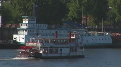 Docked Steamboat OR Stock Footage