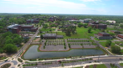FAMU Aerial video Stock Footage