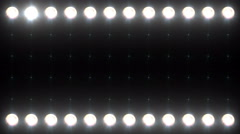 Led Wall Light Close-up Backgrlound 4K Mixed Color Stock Footage