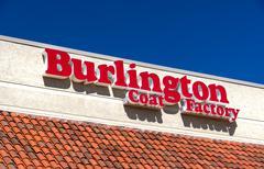 Burlington Coat Factory Warehouse Corporation Exterior and Logo Stock Photos