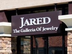Jared Jewelry Store Exterior and Logo Stock Photos