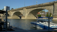 London Bridge in Lake Havasu City, AZ Stock Footage