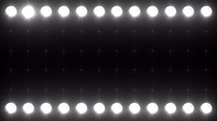 Led Wall Light Close-up Backgrlound 4K Colorless - stock footage