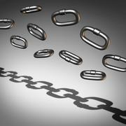Stock Illustration of Chain Abstract