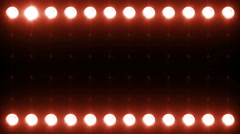 Led Wall Light Close-up Backgrlound 4K Blue - Red - stock footage