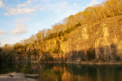 Greenway Quarry Timelapse 4K JPEG Stock Footage
