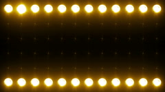 Led Wall Light Close-up Backgrlound 4K Yellow - stock footage