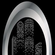 skyscraper - stock illustration