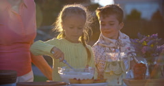 Little Pastry Cooks - stock footage