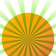 Sunshine - stock illustration