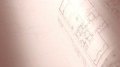 Architecture Plan. Loop. Arkistovideo
