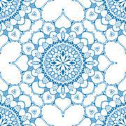 Seamless floral pattern. Stock Illustration
