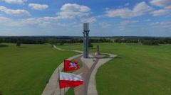 Grunwald,Tannenberg, Poland Stock Footage