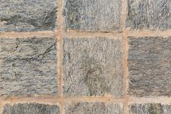 Stock Photo of close up of paving stone or facade tile texture