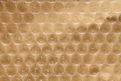 Plastic air bubble wrap background Stock Photos