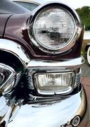 MOSCOW, RUSSIA - SEPT 24: A 1953 Cadillac Eldorado on outdoor exhibition of m - stock photo