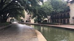4K UltraHD Mandalay Canal, Irving, Texas Stock Footage