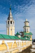 Resurrection Cathedral in Tutaev, Russia. Golden Ring Travel Stock Photos