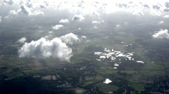 Aerial Schleswig-Holstein Stock Footage