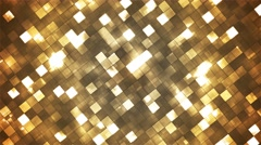 Broadcast Twinkling Fire Light Diamonds, Brown, Abstract, Loopable, 4K Stock Footage