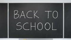 Back To School - stock footage