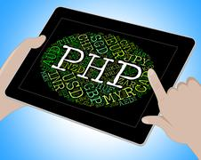 Php Currency Shows Forex Trading And Broker - stock illustration