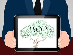 Bob Currency Represents Bolivia Boliviano And Bolivianos - stock illustration