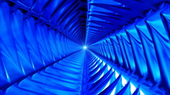 Broadcast Endless Hi-Tech Tunnel 30 - stock footage